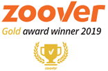 Zoover gold award winner